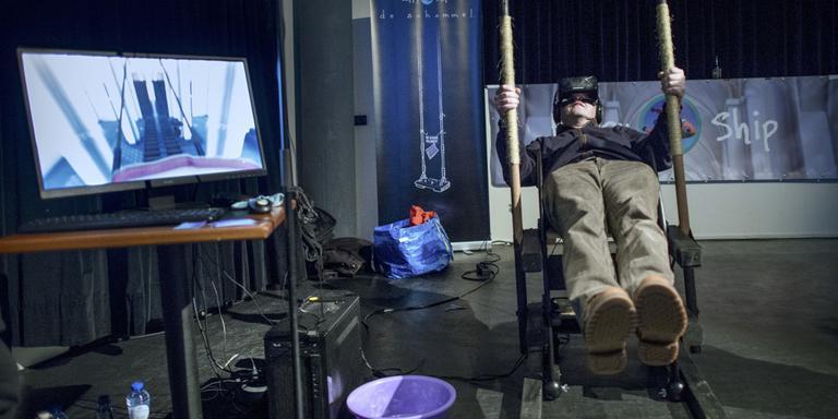 Virtuele werkelijkheid schittert in speeltuin