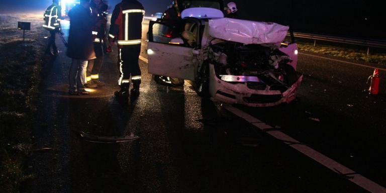 Ravage op A7 na ongeval.