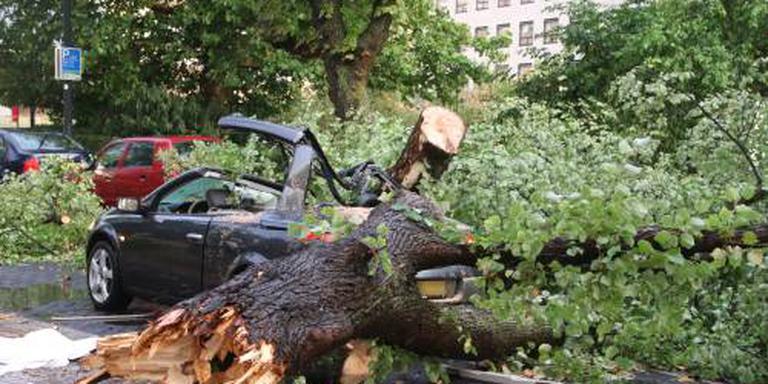 Dode door noodweer Rotterdam