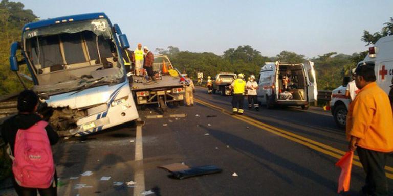 Doden bij busongeluk in oosten Mexico