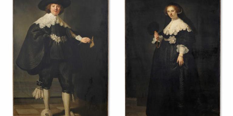 Restauratie Maerten en Oopjen in Rijksmuseum