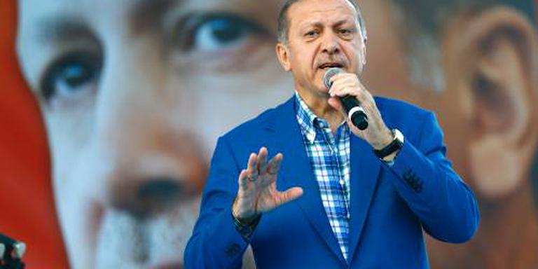 Erdogan verdedigt Turkse troepen in Irak