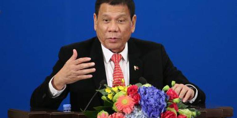 Duterte wil banden met VS niet verbreken