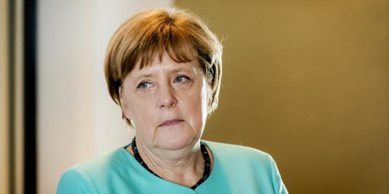 Merkel: vluchtelingencrisis risico voor EU