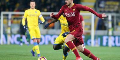 Dzeko bezorgt Roma in blessuretijd de winst