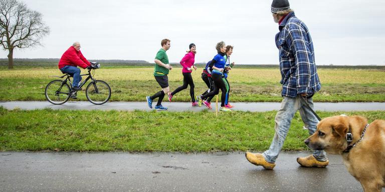 Fris misschien, maar blauwbekken hoefde niet tijdens tweede Blaauwbekmarathon. Foto: Huisman Media