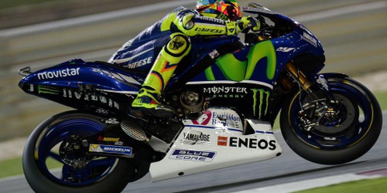 Rossi gaat nog twee jaar door bij Yamaha