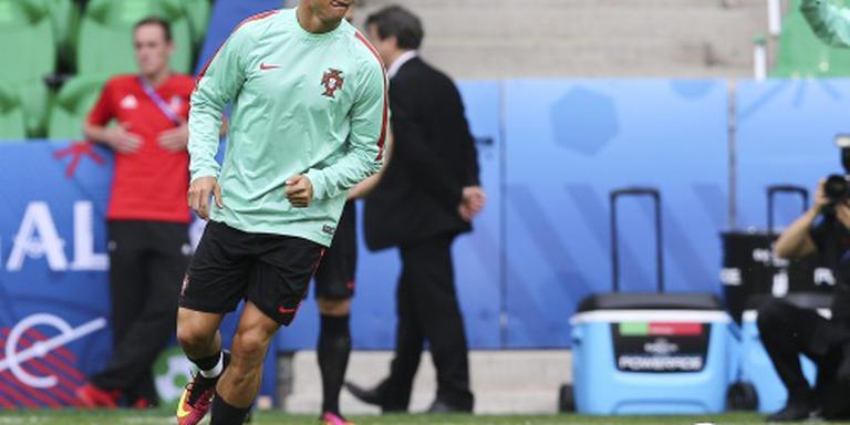 Ronaldo op gelijke hoogte met Figo