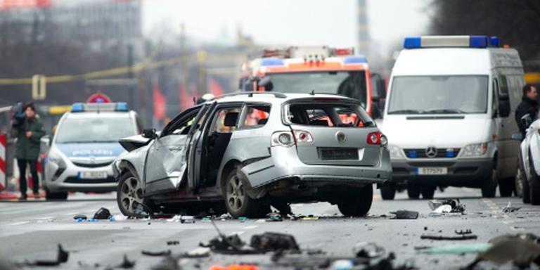 Auto ontploft in Berlijn