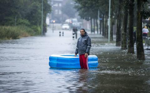Wat als in Groningen en Drenthe net zoveel regen valt als in Limburg? 'Ander gebied, maar ook hier kunnen we problemen krijgen'