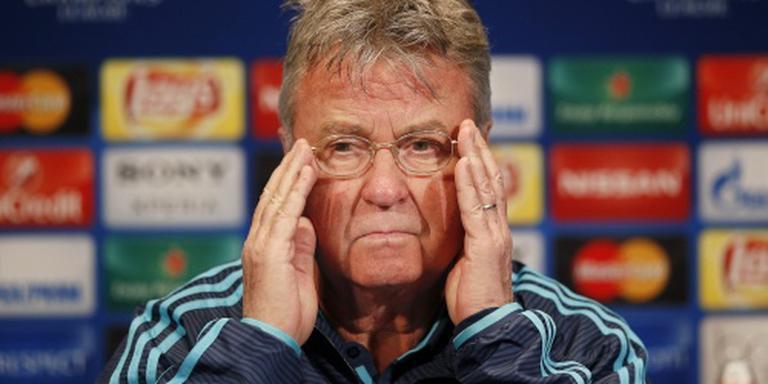 Hiddink stelt doel bij voor Chelsea