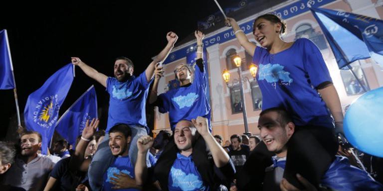 Regeringspartij Georgië krijgt meeste stemmen