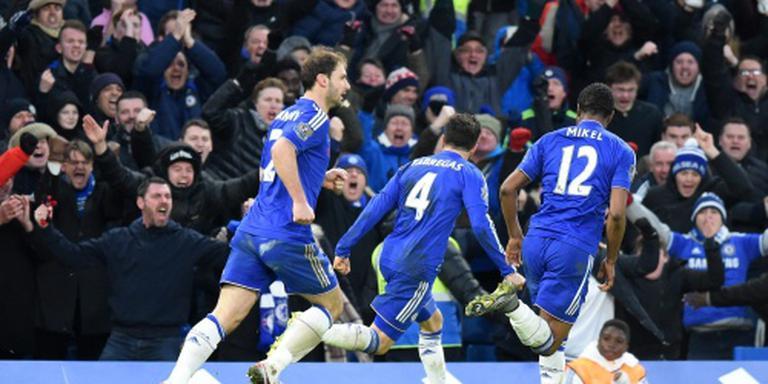 Bizarre ontsnapping Hiddink met Chelsea