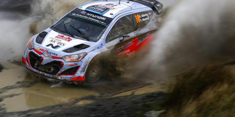 WK-rentree rallyrijder Abbring in Portugal