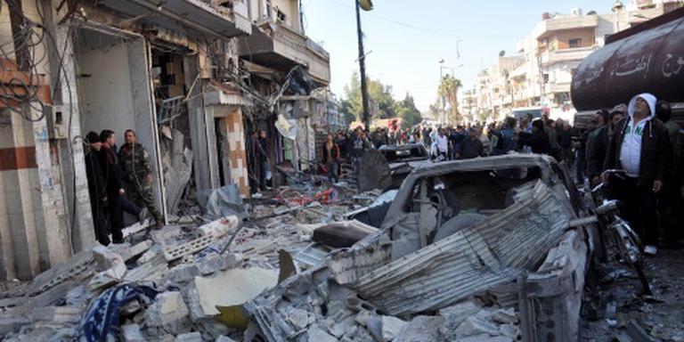 Bloedige aanslag in Syrische stad Homs