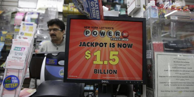 Winnaars moeten recordjackpot in VS delen