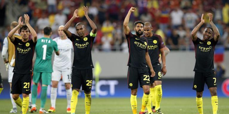Manchester City walst over Steaua heen