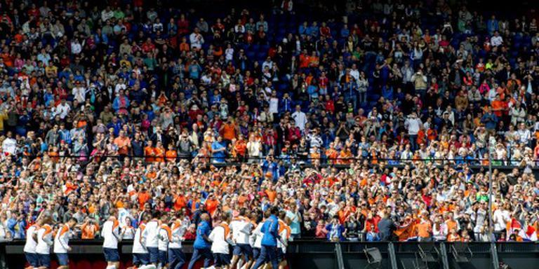 Oranje speelt weer in Rotterdam en Eindhoven