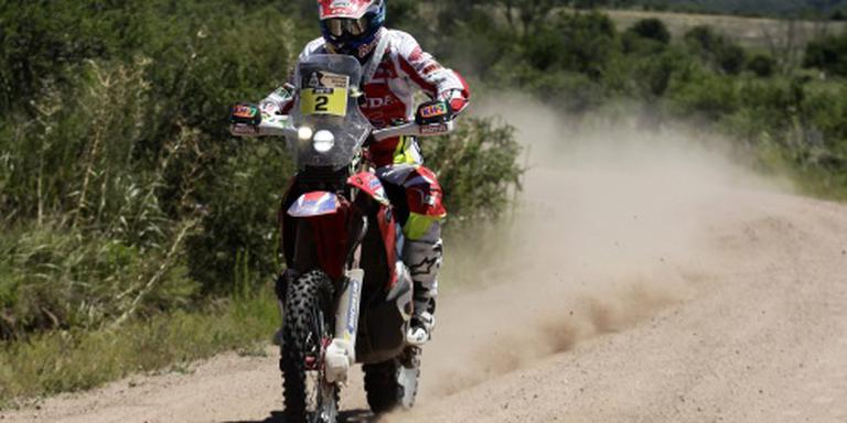 Barreda wint proloog Dakar Rally bij motoren