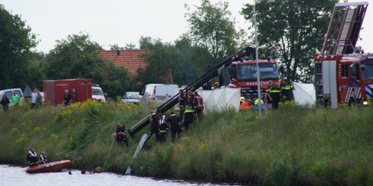 Bij het ongeval in Stieltjeskanaal kwamen vier mensen, onder wie een kind, om het leven. FOTO ARCHIEF