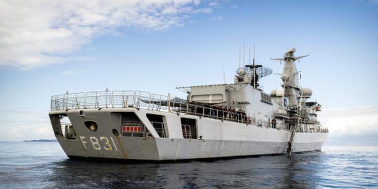 Weer reddingsactie Nederlands fregat