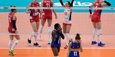 Servische volleybalsters wereldkampioen