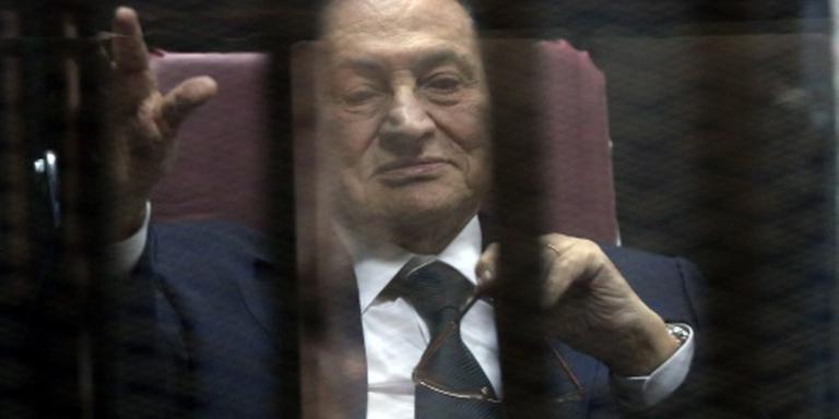 Hof van beroep bevestigt celstraf Mubarak