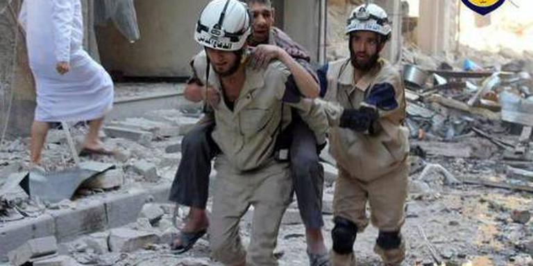 Meer geld voor reddingswerkers Syrië