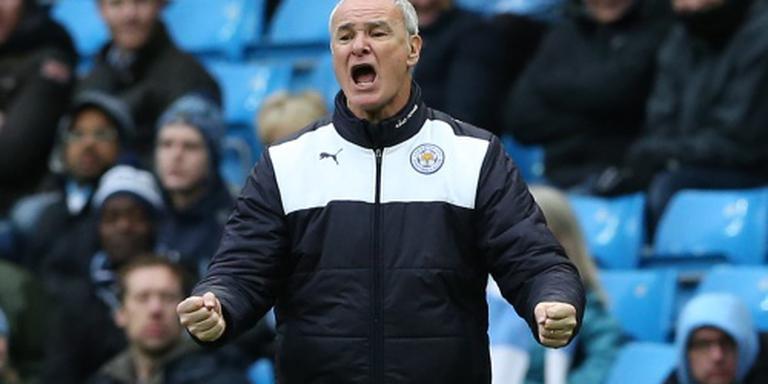 Ranieri bewaart de rust bij Leicester City