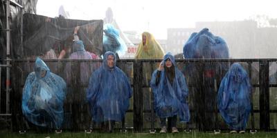Fotoserie: zeiknat Bevrijdingsfestival Groningen
