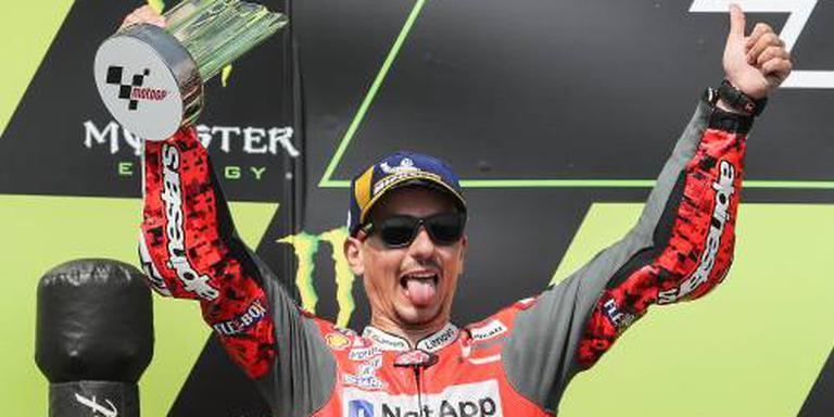 Lorenzo verslaat Márquez in Oostenrijk