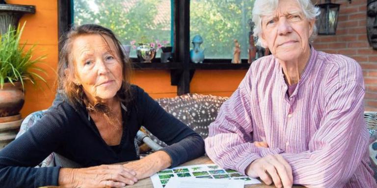 Huub en Dora Bosse willen droge grond in India omtoveren tot oases. Foo: Marcel Jurian de Jong