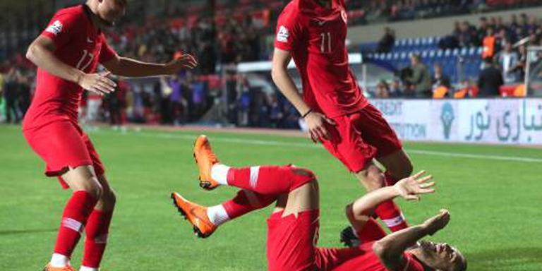 Turkije verslaat WK-deelnemer Iran