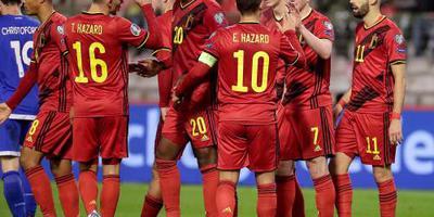 Belgen sluiten kwalificatie foutloos af