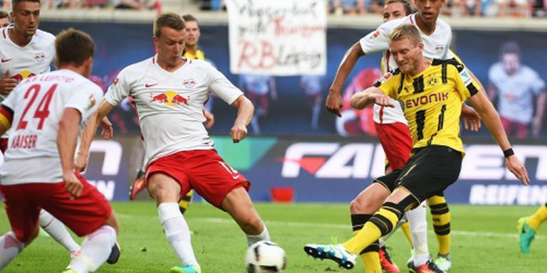 Dortmund struikelt in Leipzig