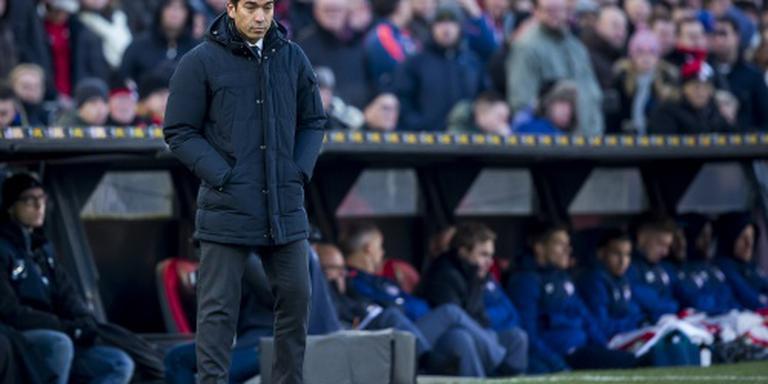 Coolsingel ineens ver weg voor Feyenoord
