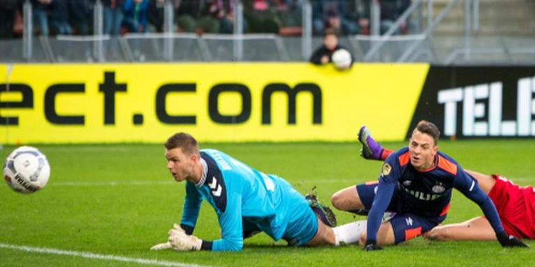 Gebroken hand voor doelman FC Utrecht