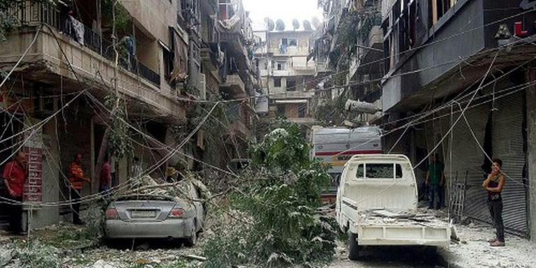 Syrië vermindert luchtaanvallen op Aleppo