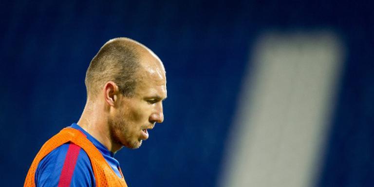 Oranje mist Robben tegen Frankrijk en Engeland
