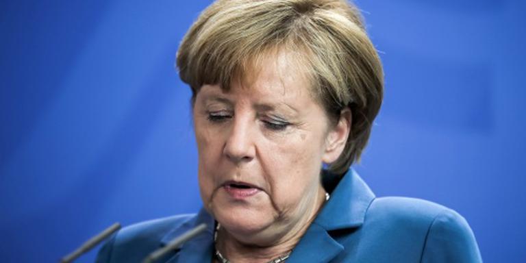 Merkel rouwt om slachtoffers