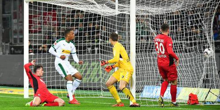 Mönchengladbach speelt gelijk tegen Freiburg