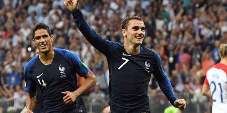Frankrijk verslaat Kroatië in WK-finale: 4-2