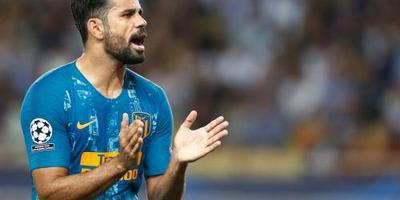 Diego Costa weer terug bij Atlético