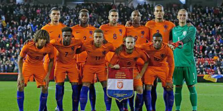 Oranje in pot drie van loting Nations League