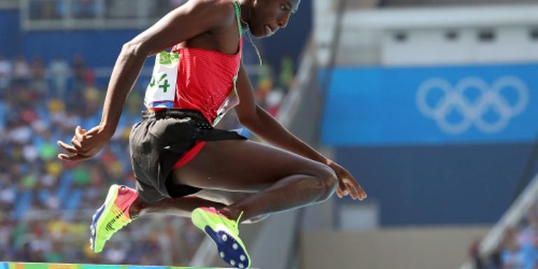 Weer Keniaans goud op steeplechase