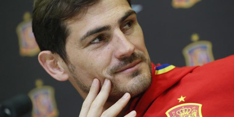 Casillas stelt afscheid graag uit