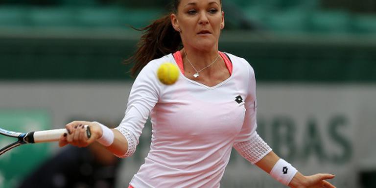 Radwanska uitgeschakeld op Roland Garros