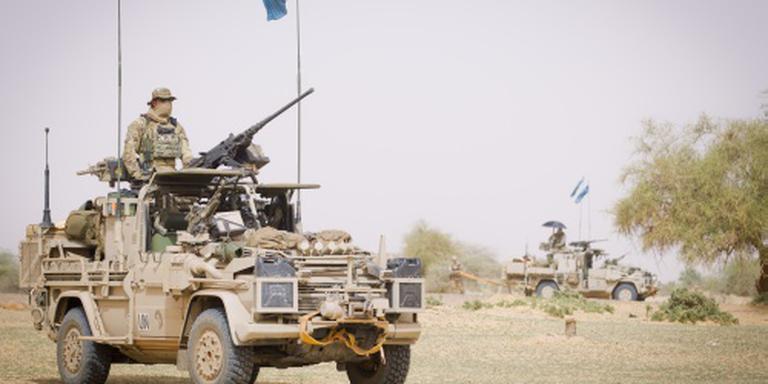 Volgend jaar 150 militairen terug uit Mali