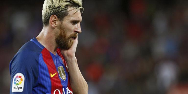 Messi staat voor rentree bij Barcelona
