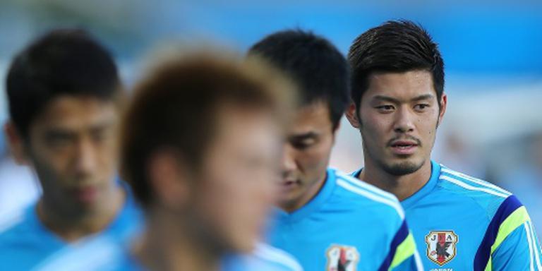 Japan diep in blessuretijd langs Irak